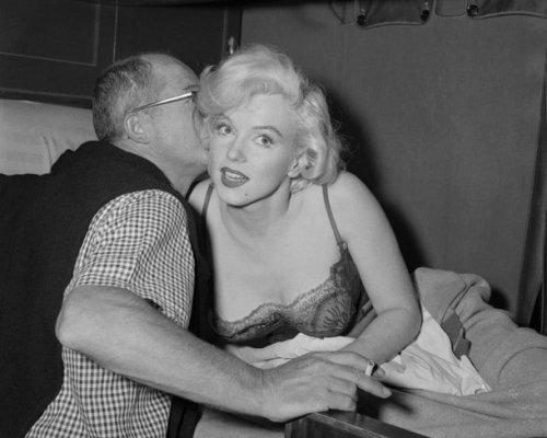 Billy Wilder y Marilyn