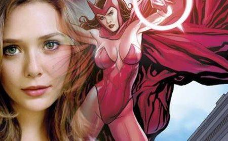 Elizabeth Olsen encarnará a la Bruja Escarlata