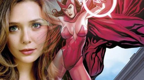 La Bruja Escarlata y Elizabeth Olsen