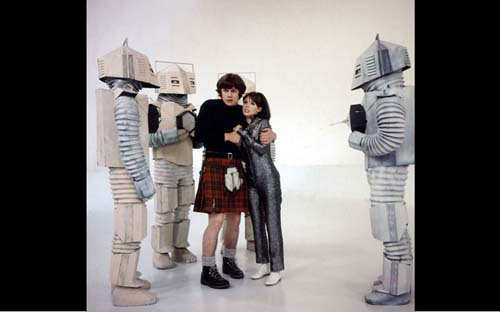 Doctor Who 3 - Robots Blancos