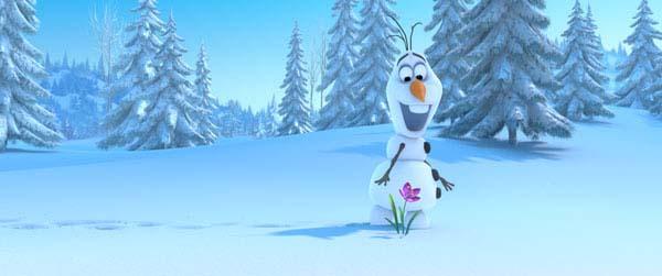 Escena de Frozen