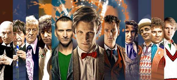 Interpretes del Doctor Who
