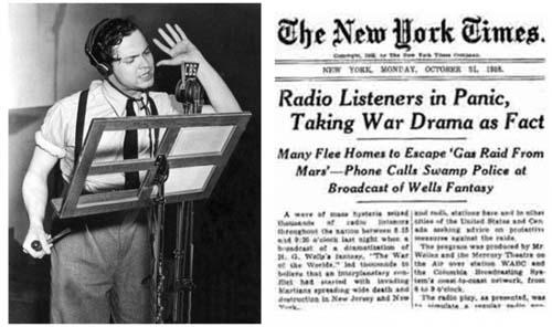 Orson Welles y la Guerra de los Mundos
